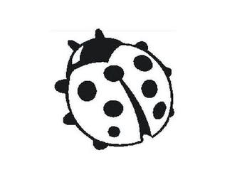 Ladybug TC174 sold unmounted rubber stamp