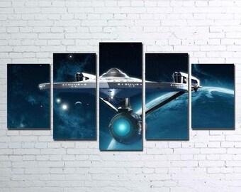 Enterprise 5pc Canvas Set