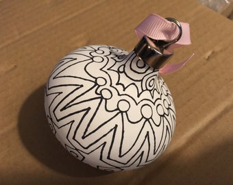 Color your own ornament