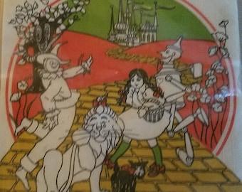 Vintage Wizard of Oz cocktail napkins