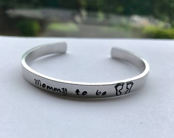 Hand stamped bracelets - Personalized gift - Hand engraved Christmas Gift - Graduation gift - Birthday gift - Inspirational cuff