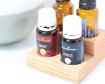 Oak Essential Oil Stands (2 x 2)