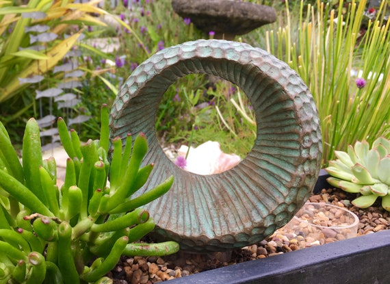Abstract Form III, Limited Edition bronze and resin sculpture