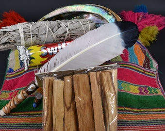 Spirit Feather Smudge Kit (Large)