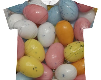 Easter Egg Candy Fun All Over Youth T-shirt