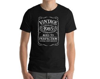 Vintage 1985 Bella And Canvas Men's T-Shirt