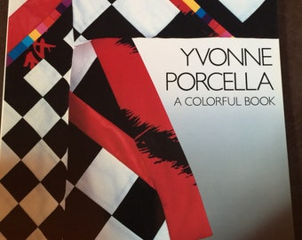 Vintage 1987 A Colorful Book by Yvonne Porcella