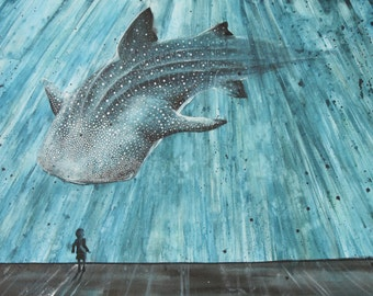 Whale Shark Aquarium Fine Art Print