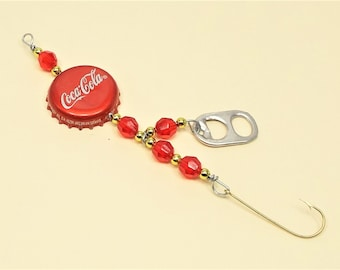Soda bottle cap fishing lure Collectible Gift