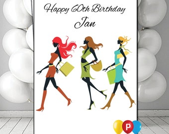 Personalised Adult Woman Birthday Card