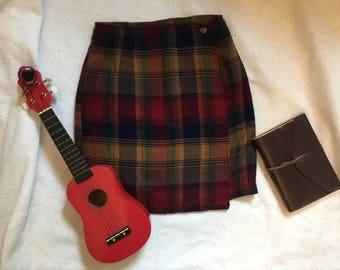 Vintage School Girl Skirt