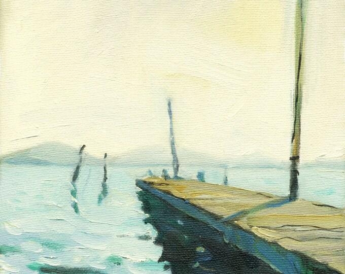 "Beach Decor "" Vista"" Oil Painting by B Kravchenko"