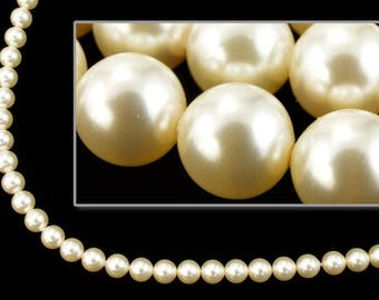 Swarovski 5810 6mm Cream Pearl