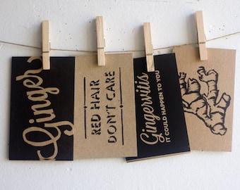 Ginger Gram Postcard Pack