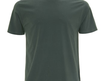 Dark Green 100% Organic T-shirt