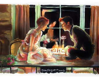 Sixteen Candles - If You Were Here Poster Print