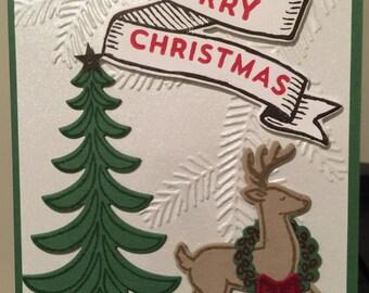 Set of 6 Christmas Cards - Christmas Tree