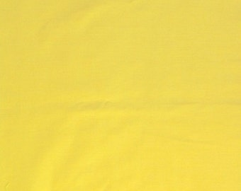 """Yellow 100% Cotton Voile Fabric Solid Pattern 60"""" Wide By the Yard Apparel, Quilting"""