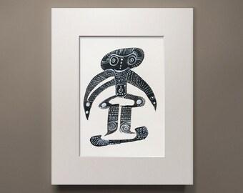 TooTutu, pen & ink, figure drawing, ballet