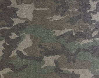Old School Army Camo - French Terry