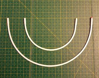 Underwire for Bra-making - 1 pair Balconette bra wire