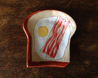 SPOON REST and Multi Use Dish Bacon N Egg