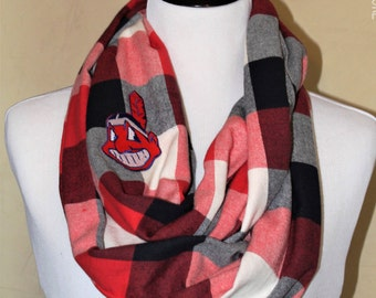Indians Flannel Scarf - Men's or Women's