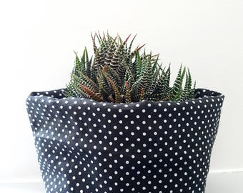 PLANT COZY fabric plant holder, storage box - limited edition