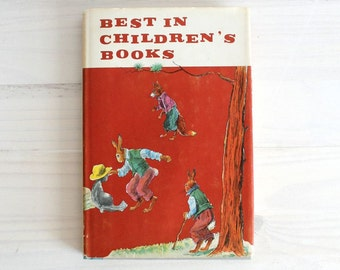 Buy one get ONE FREE! Vintage children book 60's - Best in Children's books 38 - illustrated by A.B. Frost, Kessler, Rojan, etc.