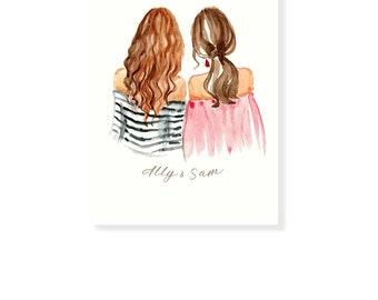 Personalized Best Friend Birthday Gift,Best Friend,Birthday Gifts, Gift for Birthday, Sister Birthday, Sister Birthday gifts FREE SHIPPING