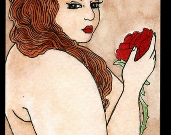 Rose for a Lady (5x7 or 8x10 print)