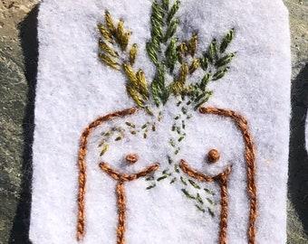 Garden Goddess Patch