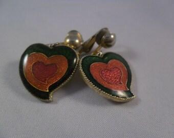 Groovy Heart Earrings