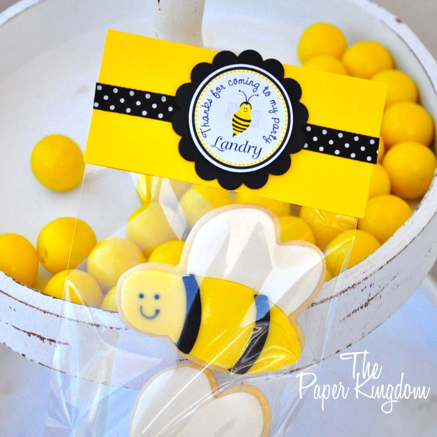 Bumble Bee Favor Bags Gift Party