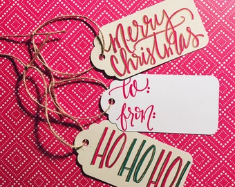 HOLIDAY GIFT TAGS!