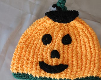 hand knitted child's halloween Hat