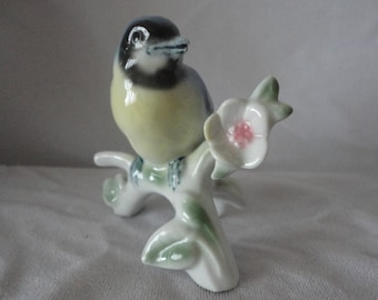 Vintage Bavaria Porcelain Bird.