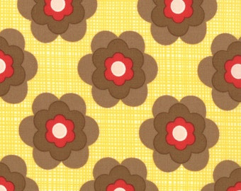 Boho 1 yard Remnant 31095-13 Brown Yellow