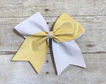 Tic toc cheer bow