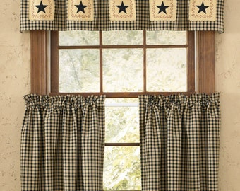 Stars and Berries Curtains