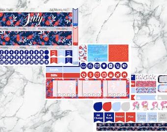 Juli monatlichen Kit, Sticker