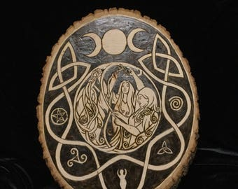 Triple Goddess - Maid Mother Crone - Norns - Fates