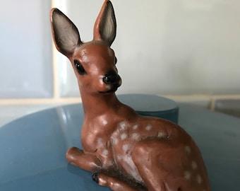 Vintage plastic deer / bambi