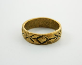 Hand Carved Boho Band - VR006