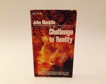 Vintage Paranormal Book Challenge to Reality by John Macklin 1968 Paperback