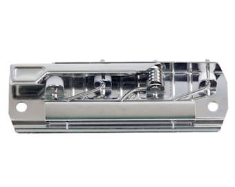 Silver Lever Clipboard Clip - Nickel Industrial Clipboard Clip - Lever Action Clipboard Clip