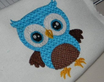 Owl ~ Instant Download ~ Machine Embroidery Design~ Multiple Formats