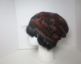 Sale Slouchy hat - Earth Tones hat - Slouchy beanie - Tam - Slouch hat