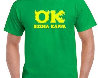 OK OOZMA KAPPA T-Shirt | Monsters University Costume Tee | Disney Family Apparel | Available in Mens Womens Kids Sizes