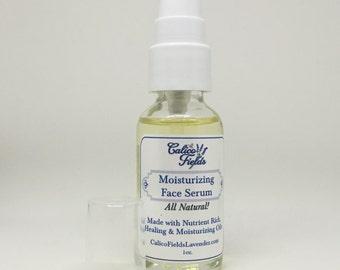 Natural Face Serum - Moisturizing Serum